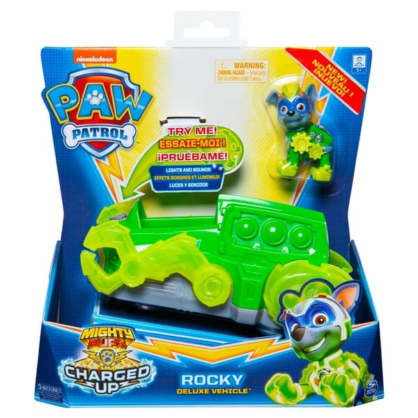 paw patrol charged up vehicle – rocky