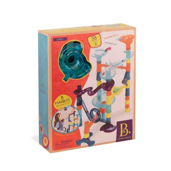 b. toys marble run playset – marble-palooza