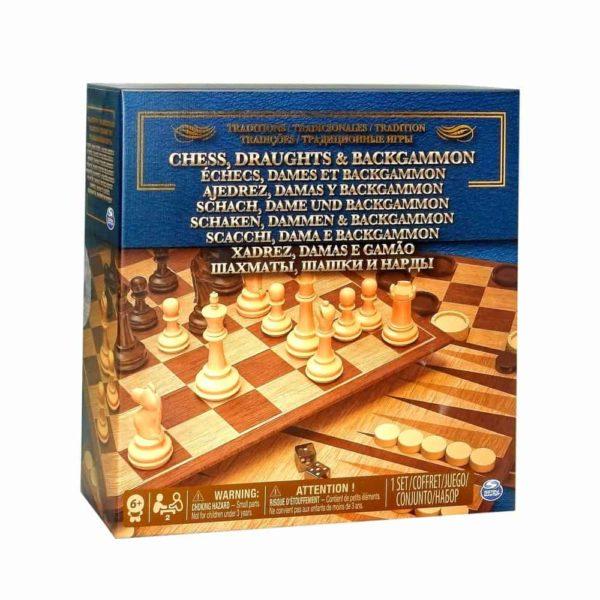 الشطرنج وطاولة الزهر سبين ماستر