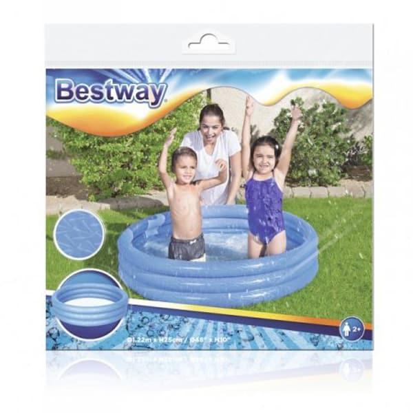 bestway 51025 l 1.22m x h 25cm inflatable play pool