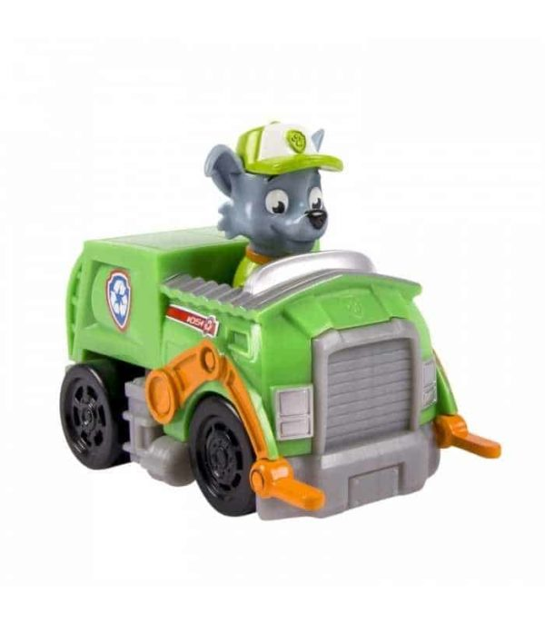 paw patrol rescue racer rocky character