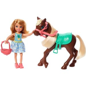 ​Barbie-Club-Chelsea-Doll-and-Horse,-6-Inch-Blonde