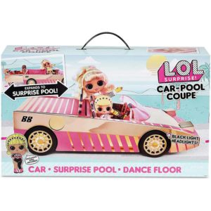 L.O.L.-Surprise!-Car-Pool-Coupe-with-Exclusive-Doll,-Surprise-Pool-&-Dance-Floor