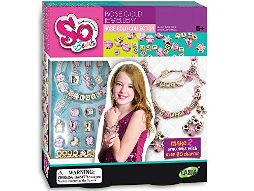 tasia so beads rose gold jewelry toy for girls