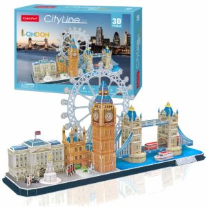3D Puzzle City Line London Cubic Fun