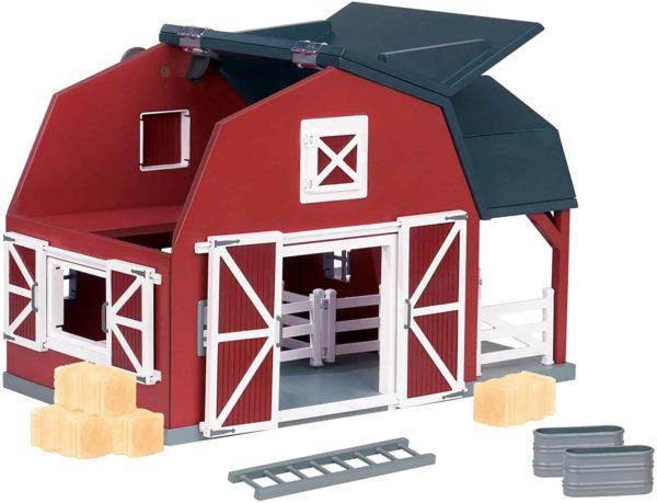 wooden barn display