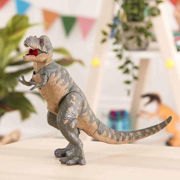 electronic t-rex playset