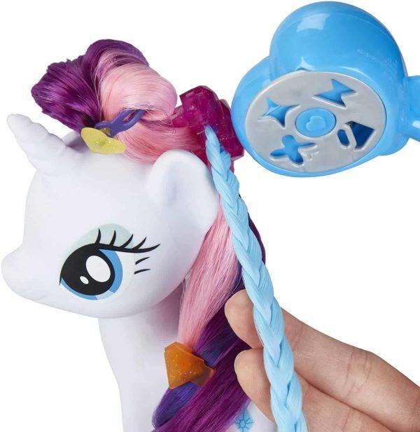 my little pony magical salon rarity toy – 15cm hair styling fashion pony