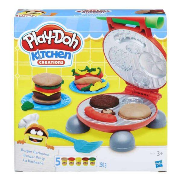 Play-Doh-burger