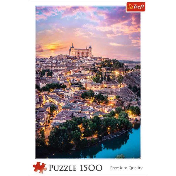 بازل توليدو إسبانيا 1500 قطعة من ترفل