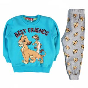Kangaroo Simba Best Friend Pajama Turquoise