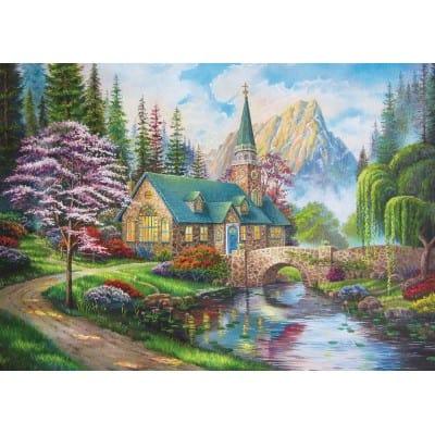 jigsaw puzzle woodland 500 piece seclusion trefl