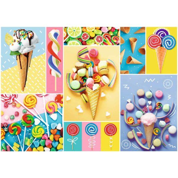بازل الحلويات المفضلة 500 قطعة من ترفل