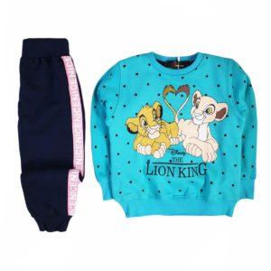 Lion king pajama Turquoise Banana