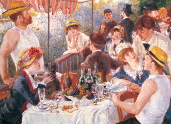 art collection luncheon of the boating party