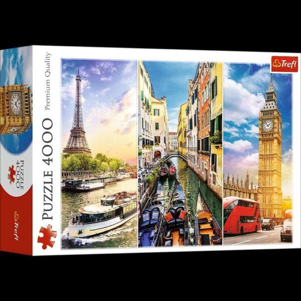 "puzzle – ""4000"" – trip around europe"