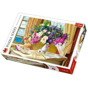 Flowers in the morning Puzzle 1000 Piece Trefl