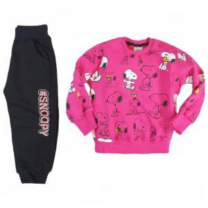 Kangaroo Snoopy Pajama Fuchsia