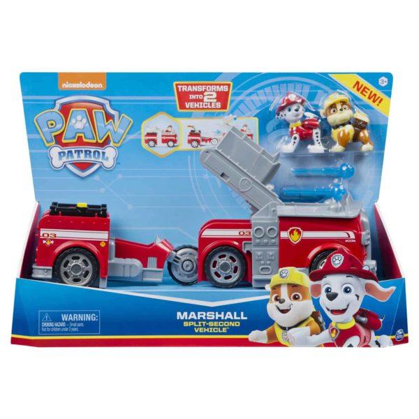marshall split-second 2-in-1 fire truck