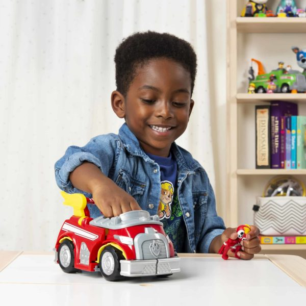 PAW Patrol, Mighty Pups Super Paws Marshall's Powered up Fire