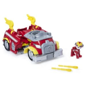 باو باترول ، مركبة تحويل شاحنة الإطفاء الكلب القوي سوبر باوز مارشال