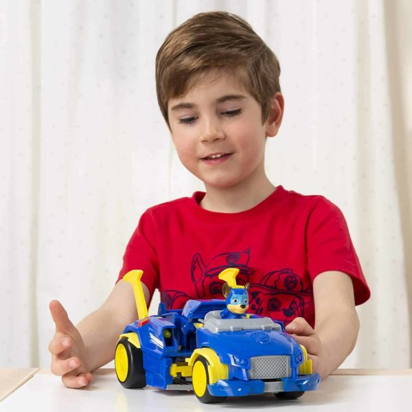 Paw Patrol, Mighty Pups Super Paws Chase's Powered Up Cruiser Transforming Vehicle 2