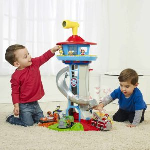 Paw Patrol - My Size Lookout Tower with Exclusive Vehicle, Rotating Periscope and Lights and Sounds2