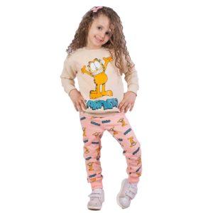 Garfield pajama Beige banana