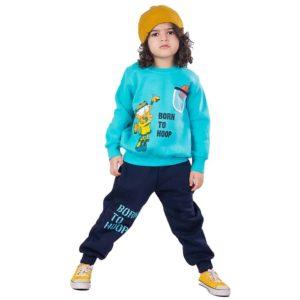 Born to hoop Banana pajama Turquoises
