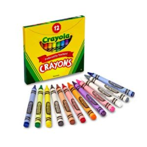 12 Crayons Assorted Crayola