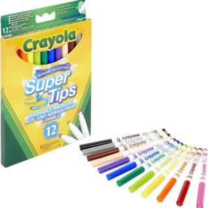 Crayola Super tips-pack of 12