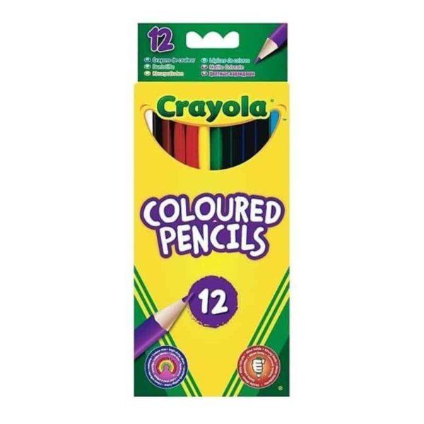 أقلام رصاص ملونة من كرايولا ، 12 قطعة