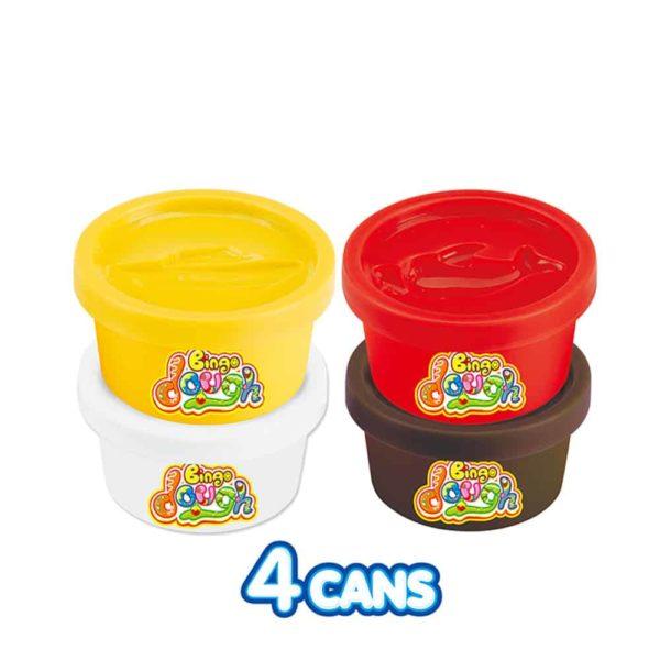 bingo dough 3d assorted box – cookie maker tom&amp jerry