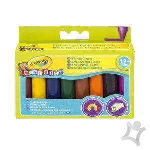 8 Crayola Crayons Large Size Wax