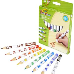8 Mini Ks Jumbo Pencils Crayola