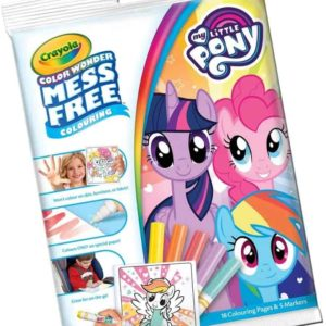 Color Wonder Mess Free Little Pony Crayola