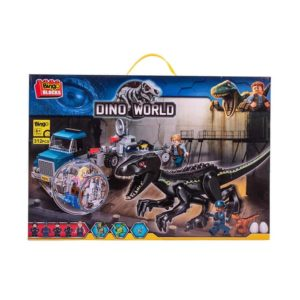 Bingo Block Dino World Big Size 4 ASSt. - Black