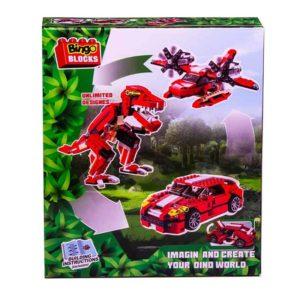 Bingo Blocks Dino World 374PCS 3 IN 1
