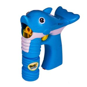 Bingo Bubble Gun Dolphin BO 2 Asst Color (Light Music) - Blue