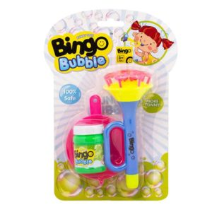 Bingo Bubble Horn Shower Bubble - Blue