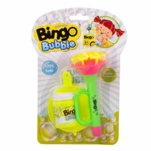 Bingo Bubble Horn Shower Bubble - Green