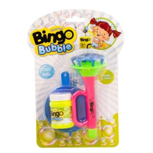 Bingo Bubble Horn Shower Bubble - Pink