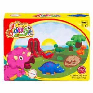 Bingo Dough Dino World 3D Molds - Triceratops