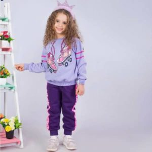 Skate Pajama Purple Banana