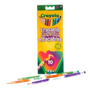 10 Erasable Pencils Crayola