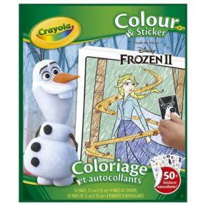 Frozen2 Colour&Sticker Book Crayola