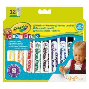 12 Mini Kids First Markers Crayola