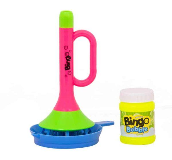 bingo bubble horn shower bubble – pink