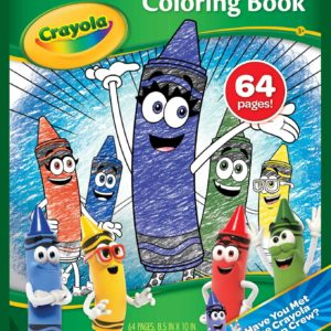 64 Page Coloring Book Crayola