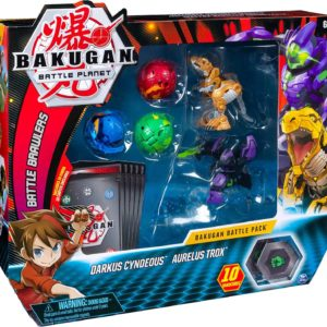 Bakugan Battle planet Bakugan Fangzor and Trox
